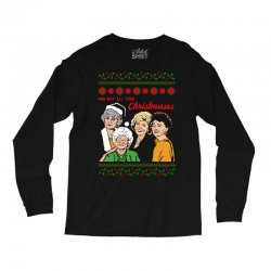 Golden Girls Christmas Long Sleeve Shirts | Artistshot