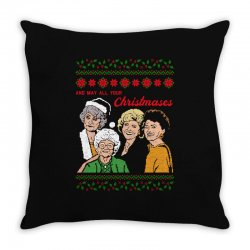 Golden Girls Christmas Throw Pillow | Artistshot