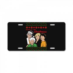 Golden Girls Christmas License Plate | Artistshot