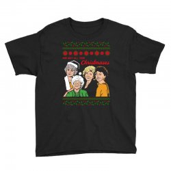 Golden Girls Christmas Youth Tee | Artistshot
