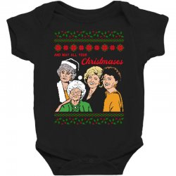 Golden Girls Christmas Baby Bodysuit | Artistshot