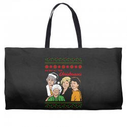 Golden Girls Christmas Weekender Totes | Artistshot