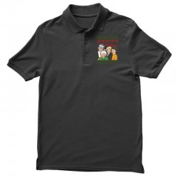 Golden Girls Christmas Polo Shirt | Artistshot