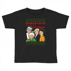 Golden Girls Christmas Toddler T-shirt | Artistshot