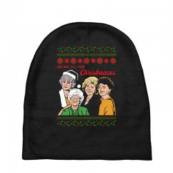 Golden Girls Christmas Baby Beanies | Artistshot