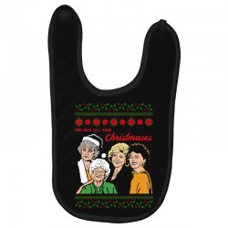 Golden Girls Christmas Baby Bibs | Artistshot