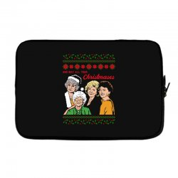 Golden Girls Christmas Laptop sleeve | Artistshot