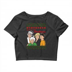 Golden Girls Christmas Crop Top | Artistshot