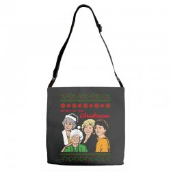 Golden Girls Christmas Adjustable Strap Totes | Artistshot