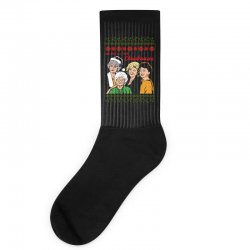 Golden Girls Christmas Socks | Artistshot