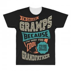 If Gramps Can't Fix It All Over Men's T-shirt | Artistshot