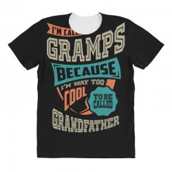 If Gramps Can't Fix It All Over Women's T-shirt | Artistshot