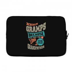 If Gramps Can't Fix It Laptop sleeve | Artistshot