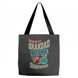 If Grandad Can't Fix It Tote Bags | Artistshot