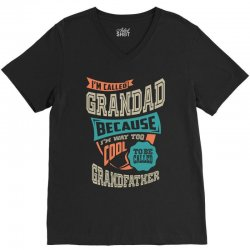 If Grandad Can't Fix It V-Neck Tee | Artistshot