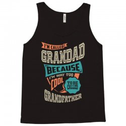 If Grandad Can't Fix It Tank Top | Artistshot