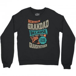 If Grandad Can't Fix It Crewneck Sweatshirt | Artistshot