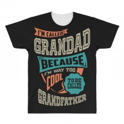 If Grandad Can't Fix It All Over Men's T-shirt | Artistshot
