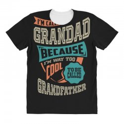 If Grandad Can't Fix It All Over Women's T-shirt | Artistshot
