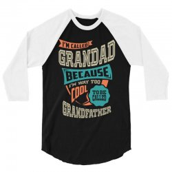 If Grandad Can't Fix It 3/4 Sleeve Shirt | Artistshot