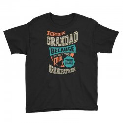 If Grandad Can't Fix It Youth Tee | Artistshot