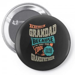 If Grandad Can't Fix It Pin-back button | Artistshot