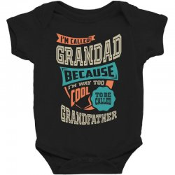 If Grandad Can't Fix It Baby Bodysuit | Artistshot