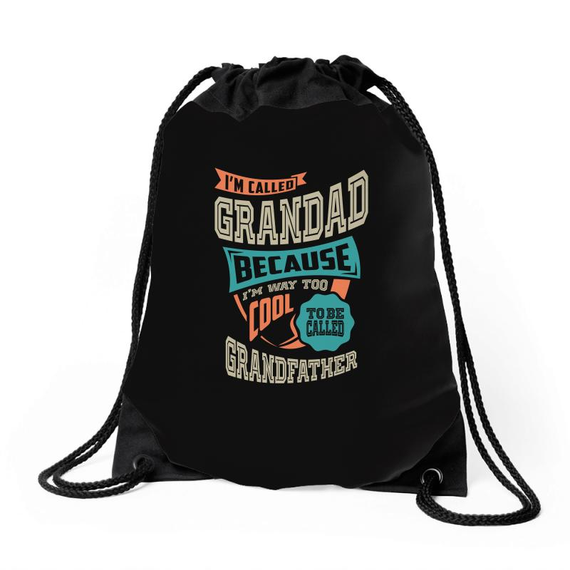 If Grandad Can't Fix It Drawstring Bags | Artistshot