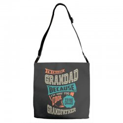 If Grandad Can't Fix It Adjustable Strap Totes | Artistshot