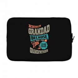If Grandad Can't Fix It Laptop sleeve | Artistshot