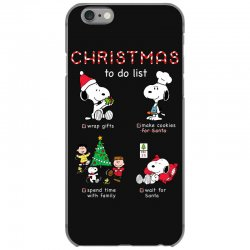 christmas to do list snoopy iPhone 6/6s Case | Artistshot