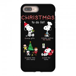 christmas to do list snoopy iPhone 8 Plus Case | Artistshot