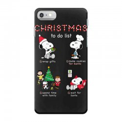 christmas to do list snoopy iPhone 7 Case | Artistshot