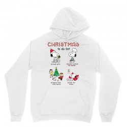 christmas to do list snoopy Unisex Hoodie | Artistshot