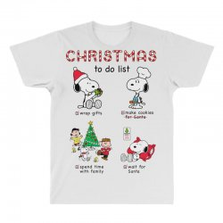 christmas to do list snoopy All Over Men's T-shirt   Artistshot