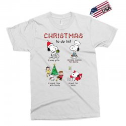 christmas to do list snoopy Exclusive T-shirt | Artistshot