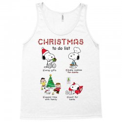 christmas to do list snoopy Tank Top | Artistshot