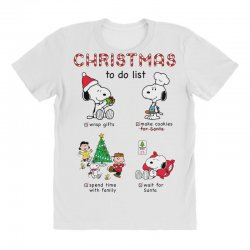 christmas to do list snoopy All Over Women's T-shirt   Artistshot