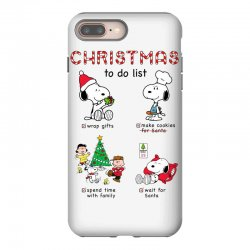 christmas to do list snoopy iPhone 8 Plus Case   Artistshot