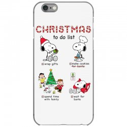 christmas to do list snoopy iPhone 6/6s Case   Artistshot