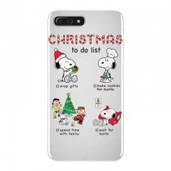 christmas to do list snoopy iPhone 7 Plus Case | Artistshot