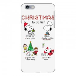 christmas to do list snoopy iPhone 6 Plus/6s Plus Case | Artistshot