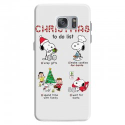 christmas to do list snoopy Samsung Galaxy S7 | Artistshot