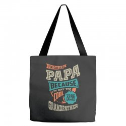If Papa Can't Fix It Tote Bags | Artistshot