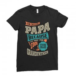 If Papa Can't Fix It Ladies Fitted T-Shirt | Artistshot