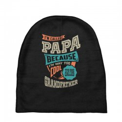 If Papa Can't Fix It Baby Beanies | Artistshot