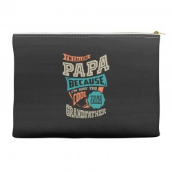 If Papa Can't Fix It Accessory Pouches | Artistshot
