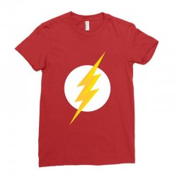 the flash Ladies Fitted T-Shirt | Artistshot