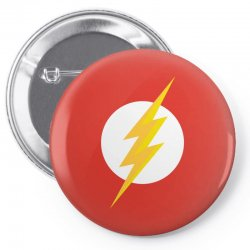 the flash Pin-back button | Artistshot