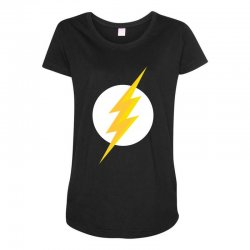 the flash Maternity Scoop Neck T-shirt | Artistshot